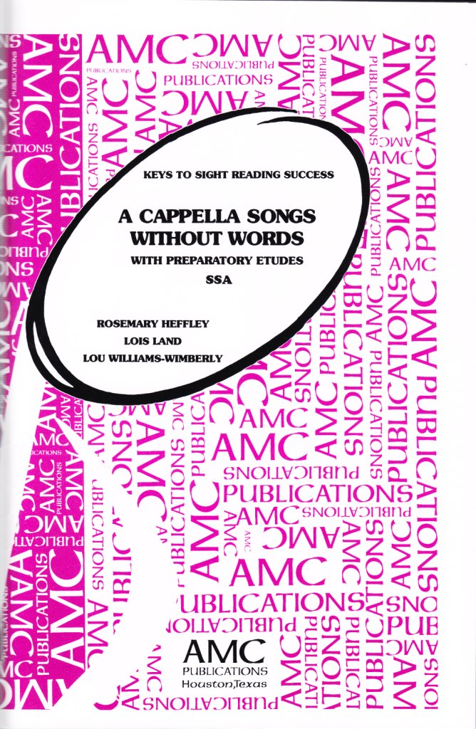 Alliance Music Publications Inc  - A Cappella Songs Without