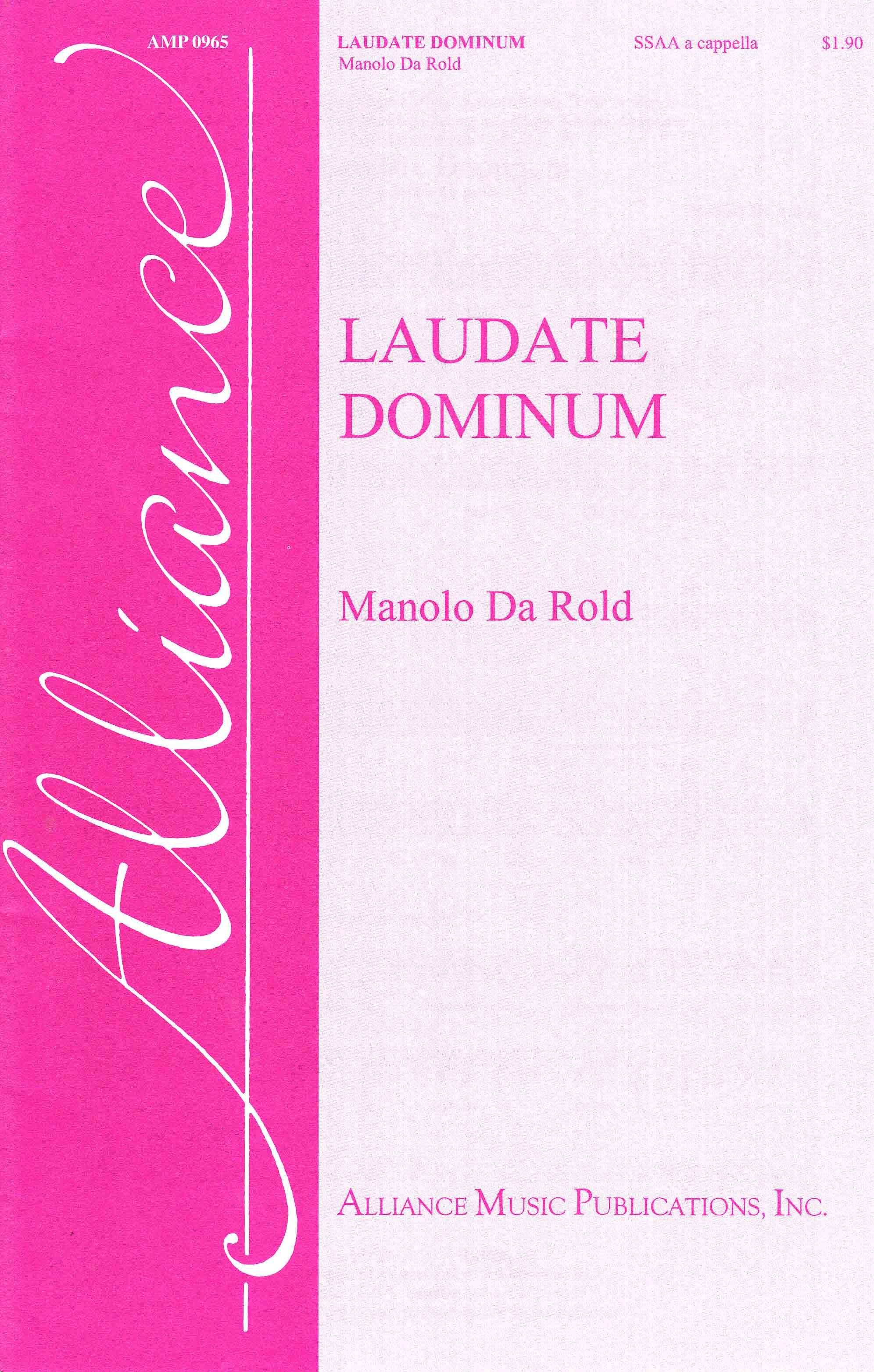 Alliance Music Publications Inc  - Laudate Dominum